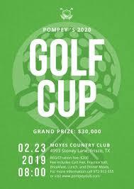 golf poster templates canva