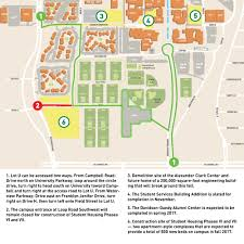 Utd Map University Rolls Out Largest Parking Garage New Buildings For