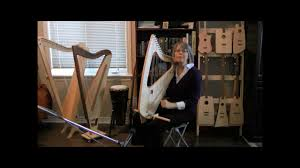 what size l harp do i need 24 string suitcase size travel harp youtube