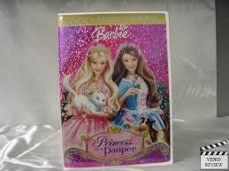 barbie princess pauper dvd 2004 ebay