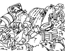land pollution coloring pages many interesting cliparts