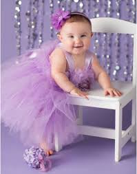 pansy light purple tutu dress flower girl gown pageant