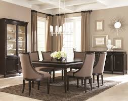 Contemporary Dining Room Grey Simple Beautiful Table Decoration - White modern dining room sets
