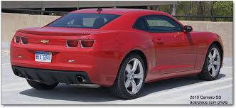 for 2010 camaro ss 2010 chevrolet camaro ss car reviews