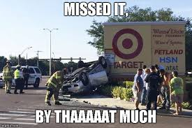 Car Wreck Meme - target car crash meme generator imgflip