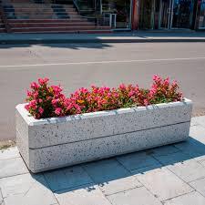 Concrete Rectangular Planter by Fiber Reinforced Concrete Planter Rectangular Contemporary