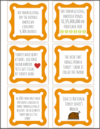 thanksgiving trivia cards bet you t heard these ones