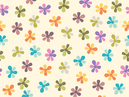 summer flowers ppt backgrounds flowers pattern templates ppt