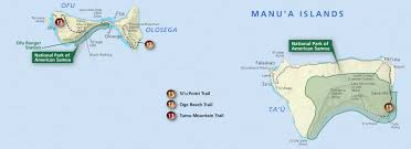 map samoa american samoa maps npmaps just free maps period