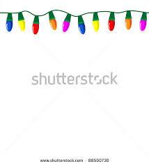 christmas light vector christmas decore
