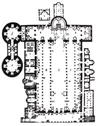 Roman Floor Plan by Ancient Roman Basilicas Apses And Early Christian Architecture