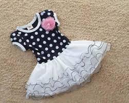 girls summer dress kids flower multi coloured polka dots spring