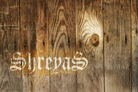 realistic wood poster shreyas mm journal