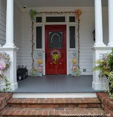 Easter Decorating Ideas For The Home 4th Of July Porch Decorating Ideas