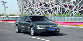 volkswagen phaeton vw to build all electric phaeton by 2019