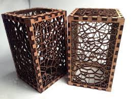 laser cut voronoi boxes nyc resistor
