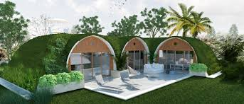 this pre fab hobbit home is eco friendly and can be built in 3