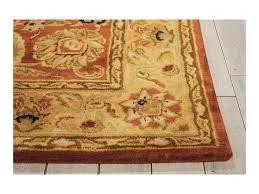 6x6 Rug Nourison Jaipur 6 U0027 X 6 U0027 Rust Round Rug Baer U0027s Furniture Rugs