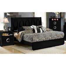 hollywood bedroom bed tv dresser u0026 tv mirror black king