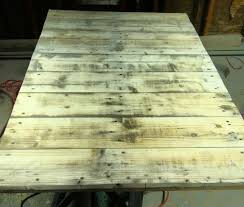 Wooden Pallet Coffee Table How To Make A Super Cheap Coffee Stained Wood Pallet Coffee Table