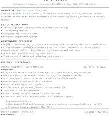 bartender resume format bartender resume format bartender resume sle resume format