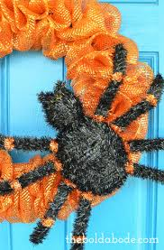 halloween spider wreath plus loads of other ideas for awesome