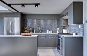 single kitchen cabinet brown varnish wood full area floor black