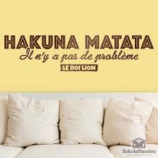 hakuna matata in french