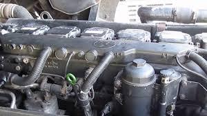 man tga 460 engine running youtube