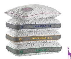 bed gear pillow thunder 1 0 performance pillow bedgear