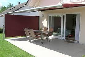 seitenmarkise balkon seitenmarkisen ausziehbar für terrasse balkon bis 4 meter