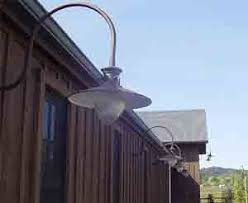 Gooseneck Outdoor Light Fixtures Lighting Design Ideas Pottery Outdoor Gooseneck Light Fixture