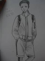 tutorial menggambar orang dengan pensil cara menggambar orang zakki s blog