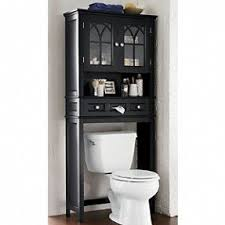 Bathroom Over The Toilet Storage by Black Bathroom Space Saver Over Toilet Foter