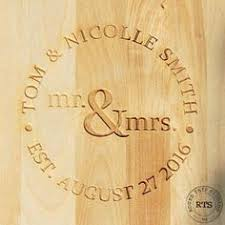 engraved wedding gifts ideas personalized laser engraved mr and mrs hangers by inscribed