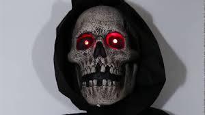door reaper hanging halloween prop animated lifesize haunted house