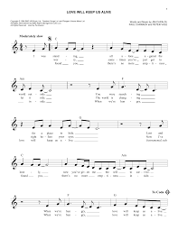 Wildfire Chords Easy by Love Will Keep Us Alive Chords By Eagles Melody Line Lyrics