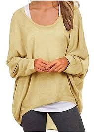 uget women u0027s casual oversized baggy off shoulder shirts batwing