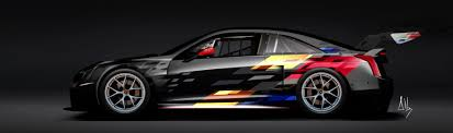cadillac supercar cadillac introduces all new ats v r race car