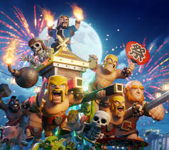 clash of clans wallpapers images wallpaper especial de 5 anos de clash of clans clash of clans dicas
