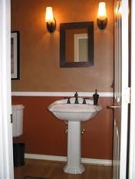 Orange Bathroom Ideas Colors Orange Design Ideas Orange Walls Wall Colors And Dark Wood