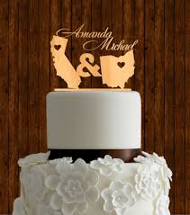 wood cake toppers wooden wedding cake toppers atdisability