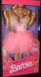 1990 mattel pretty barbie doll 2249