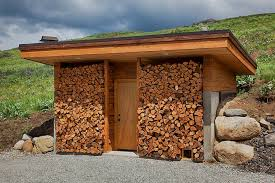 Free Firewood Storage Shed Plans by The Artful Woodpile 30 Fabulous Firewood Storage Ideas