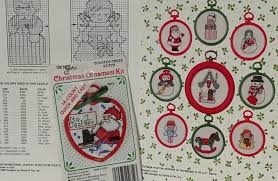counted cross stitch patterns and small kit