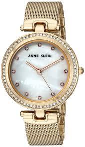 anne klein bracelet gold images Cheapees anne klein women 39 s swarovski crystal accented gold tone jpg