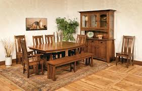 Mission Style Dining Room Tables - dining table mission style dining tables and chairs coaster