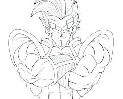 dragon ball coloring pages goku super saiyan 4 5 dragon ball