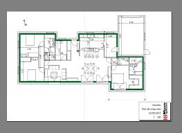 plan de maison de plain pied avec 3 chambres plan de maison logiciel avec plans maisons gratuit logiciel dessin