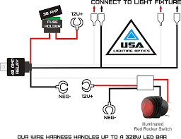 led light bar wiring diagram with switch motorcycle led accent